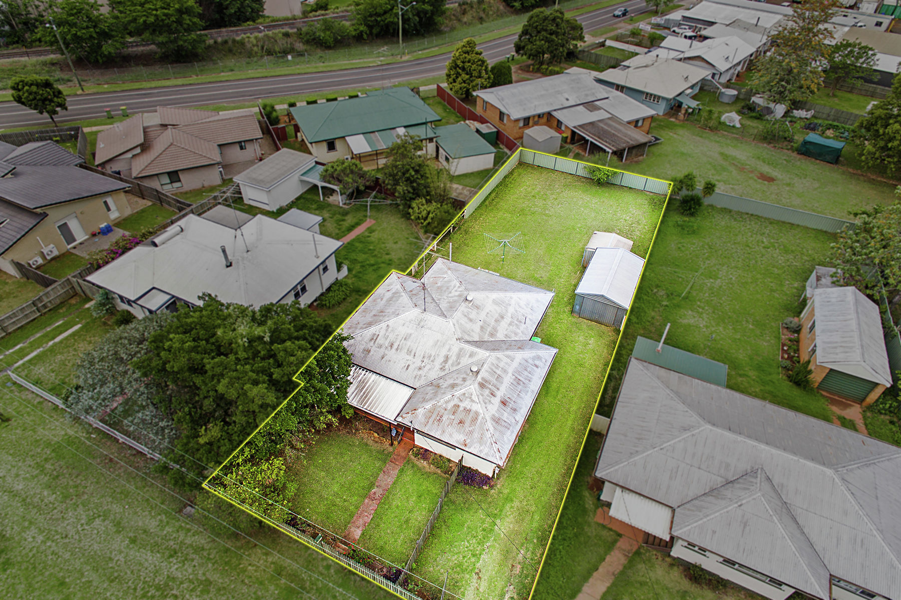 Property in South Toowoomba - Offers Over $249,000