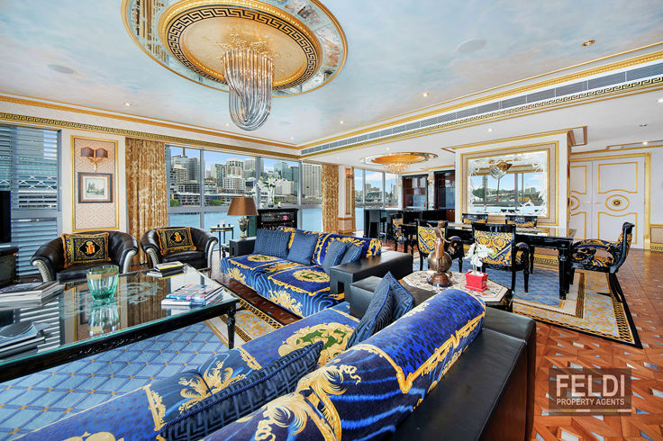 THIS IS SYDNEY.....THIS IS THE VERSACE RESIDENCE, SYDNEY WHARF.