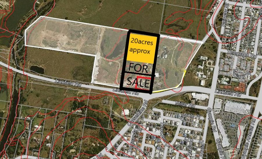 20 ACRES APPROXIMATELY - UP FOR GRABS - PRIME LAND ON MAIN LINKFIELD ROAD OPP BRIDGEMAN DOWNS / CARSELDINE