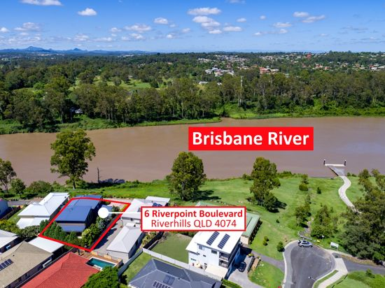 Property in Riverhills - Exclusive Uninterrupted Views over Brisbane River!