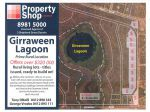GIRRAWEEN LAGOON...JUST 2 LEFT!.....FROM $320 000