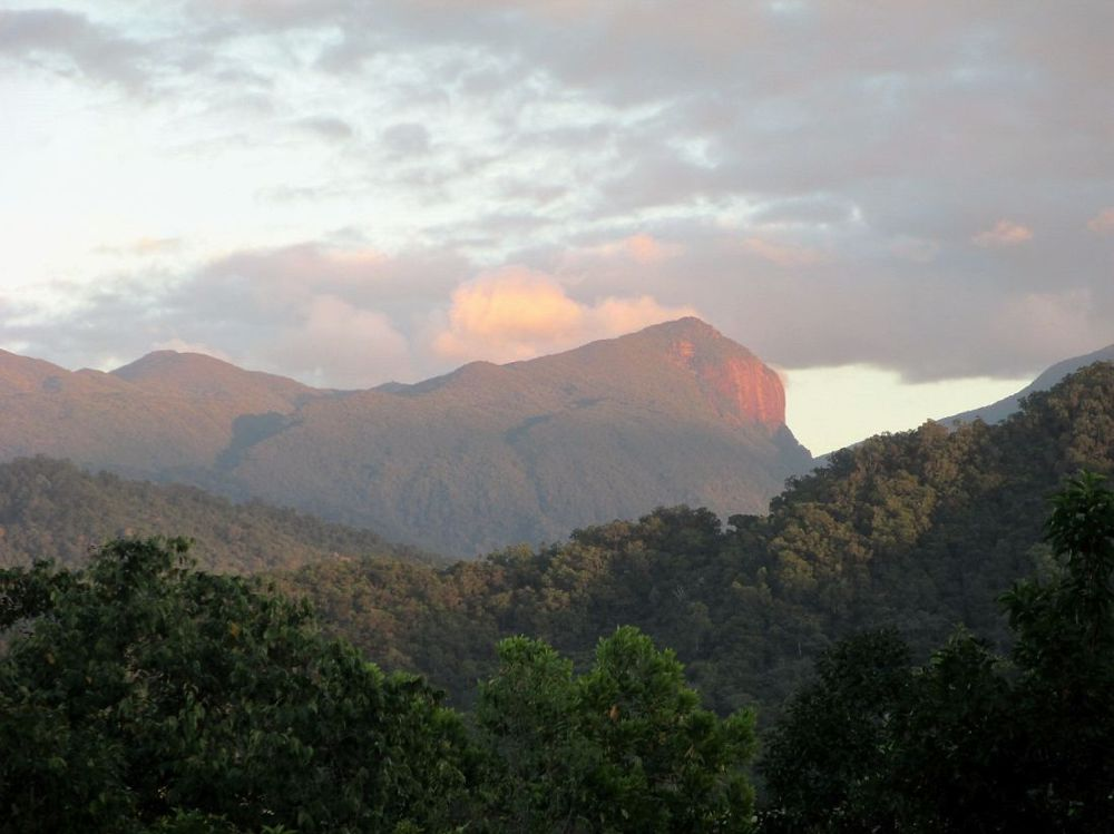 Sunrise over Mossman Gorge