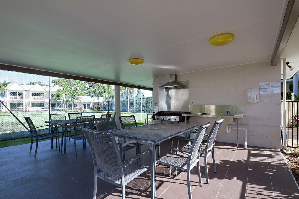 Barbeque and entertaining area