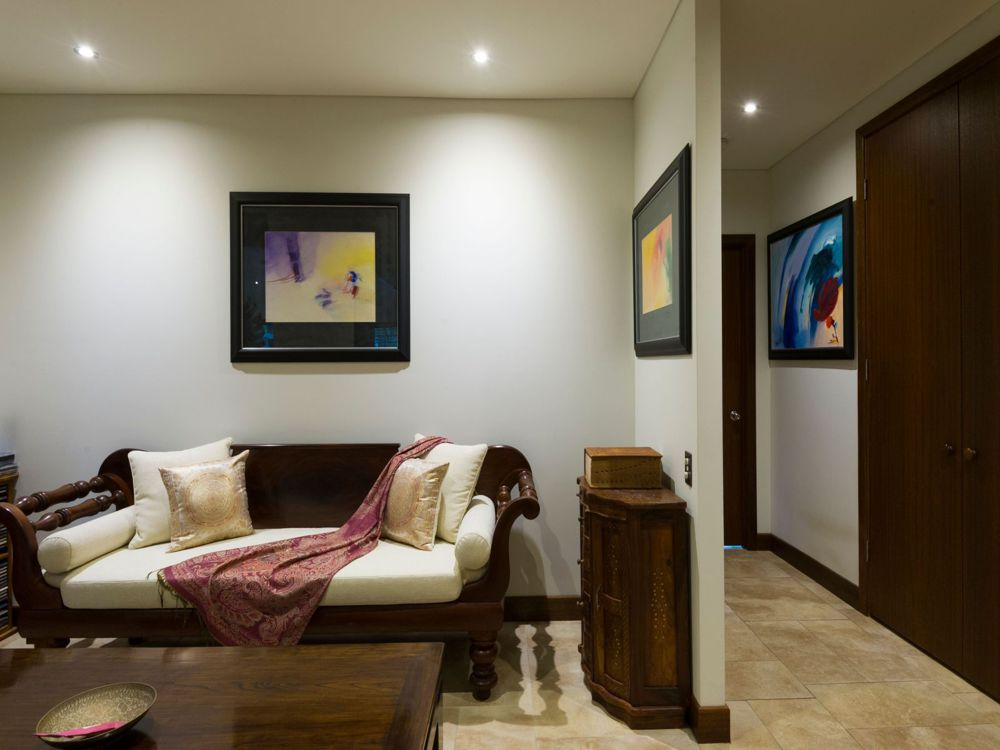 A choice of lounge and entertaining areas