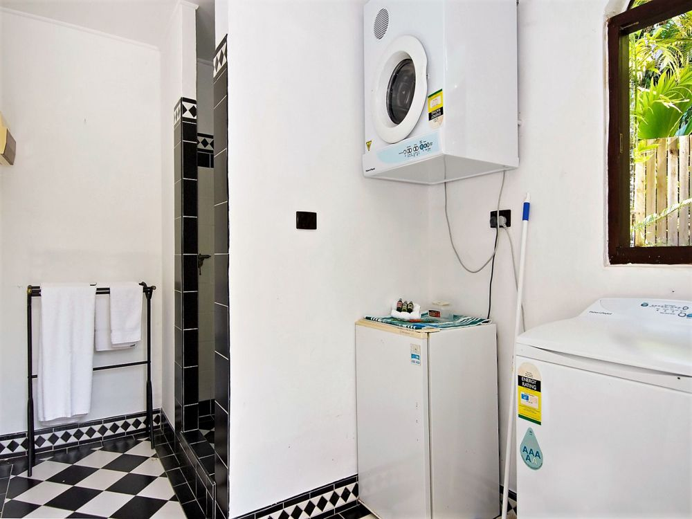 Shower and laundry facilities