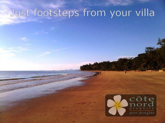 Just footsteps from your villa, beautiful Four Mil