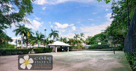Resort tennis court, Port Douglas