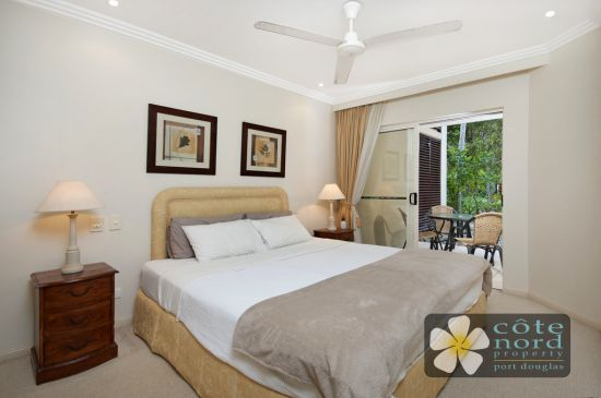 One of the stylish bedrooms in this dualkey unit f