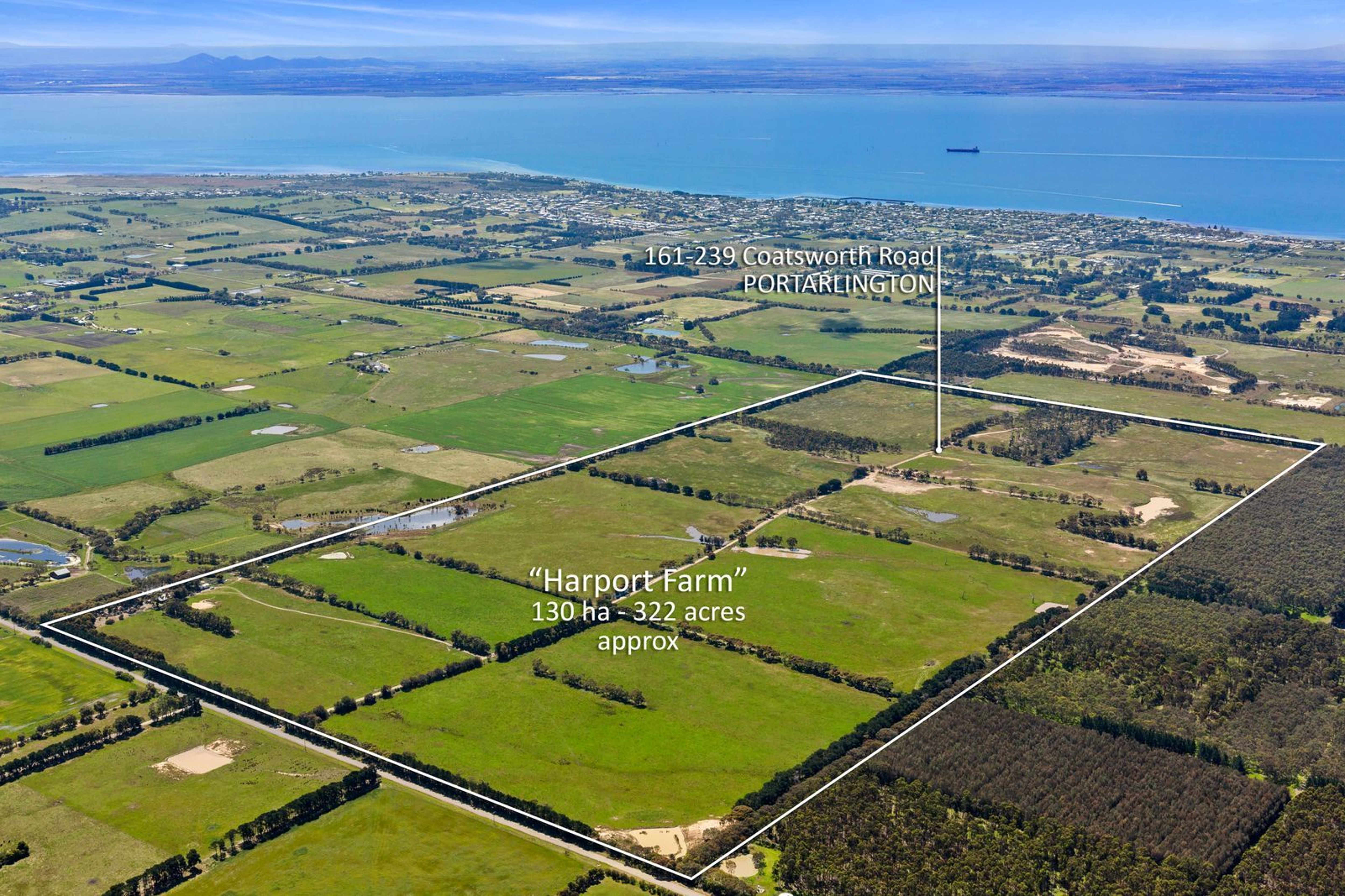 HARPORT FARM  130HA 322ACRES (APPROX)